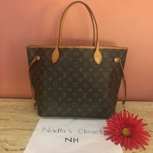 Auth Lv Neverfull mm